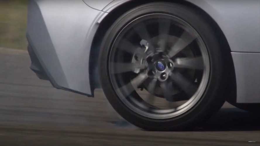 2022 Subaru BRZ teased in backroad carving video