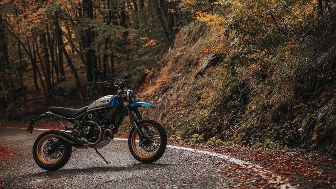 2021 Ducati Scrambler Desert Sled, Landscape