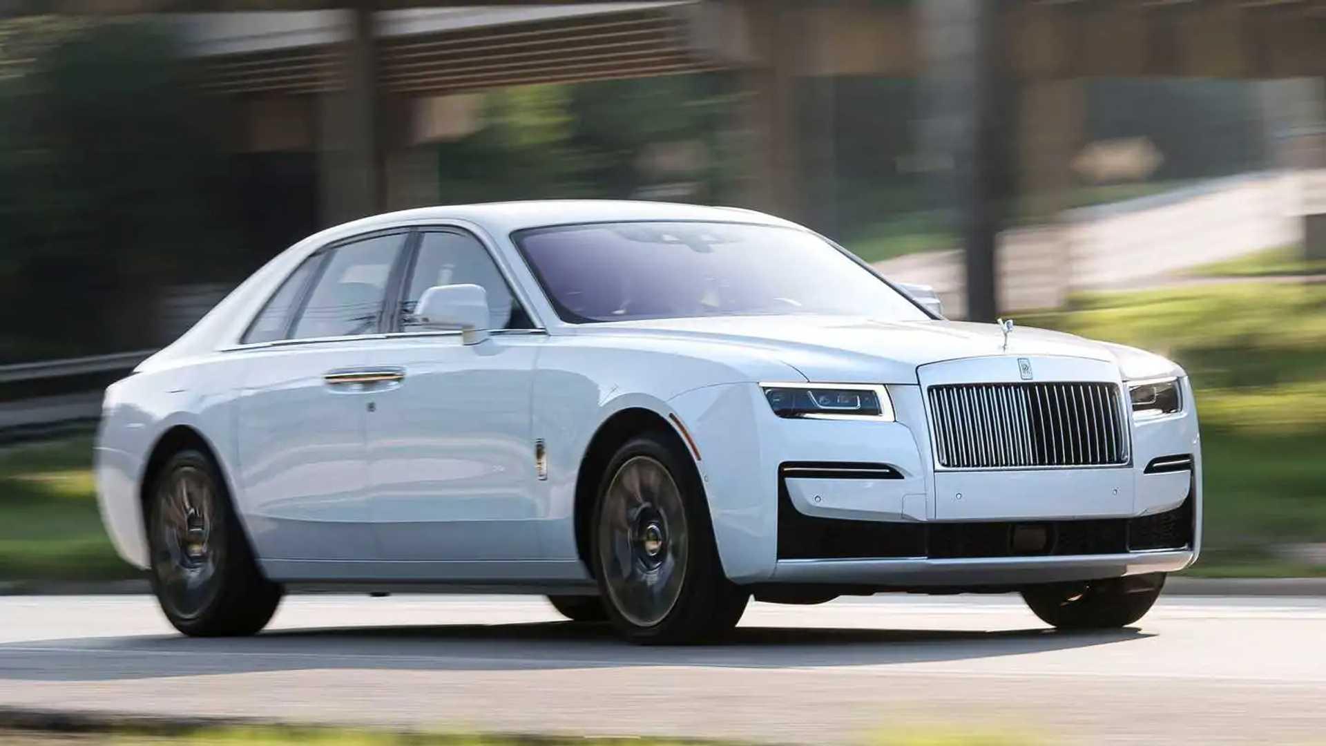 Ja Dirigimos Novo Rolls Royce Ghost 2021 E Tudo E Mais Um Pouco