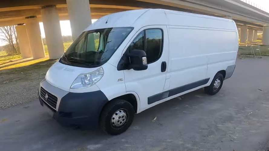 Fiat Ducato uses all the Autobahn to hit its top speed
