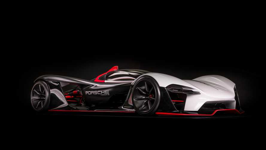 Porsche Vision E is an electric racing car study for the gentleman racer