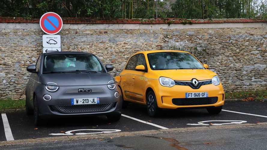 Essai comparatif - Fiat 500 électrique vs Renault Twingo Electric