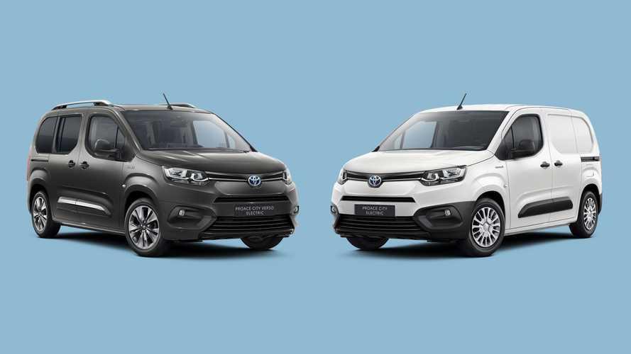Toyota presenta el Proace City Electric, en dos formatos