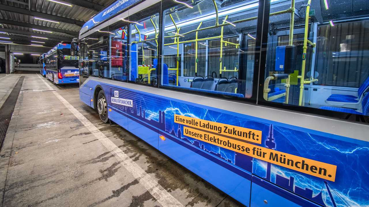 Ebusco electric buses