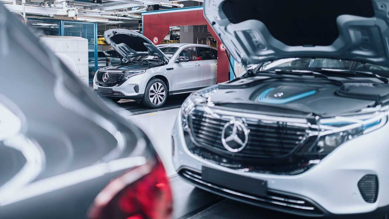 Mercedes-Benz EQC production in Bremen plant, Germany