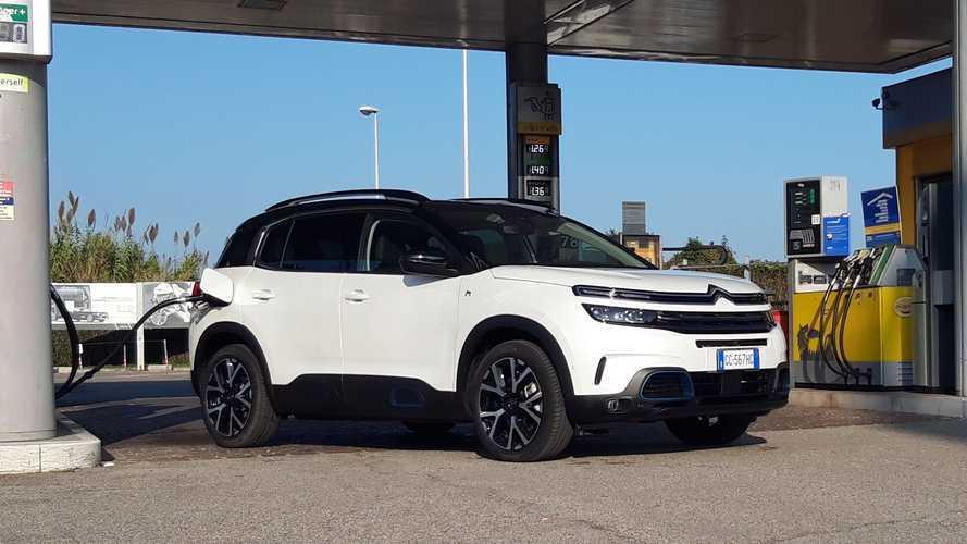 Citroën C5 Aircross Hybrid 2020: prueba de consumo real