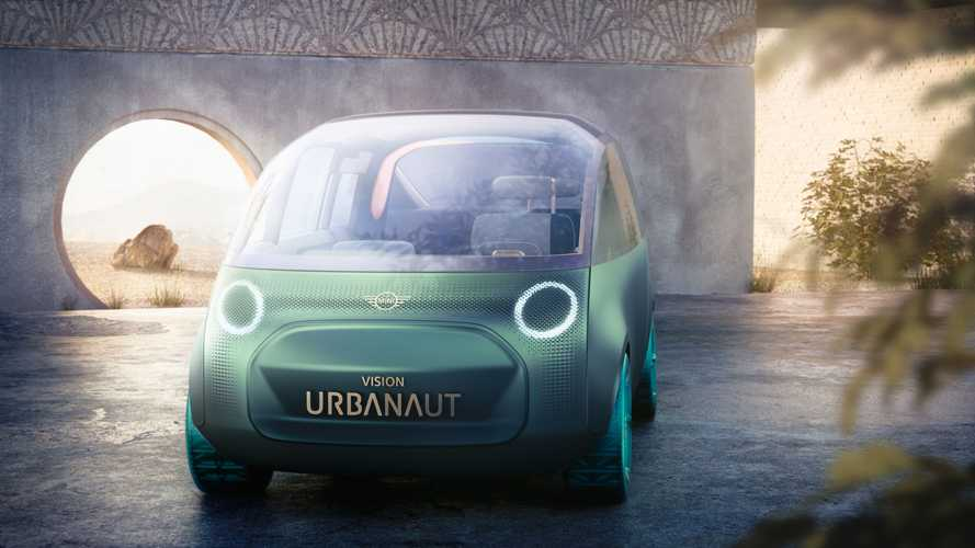 Mini Vision Urbanaut debuts as digital multifunctional EV concept