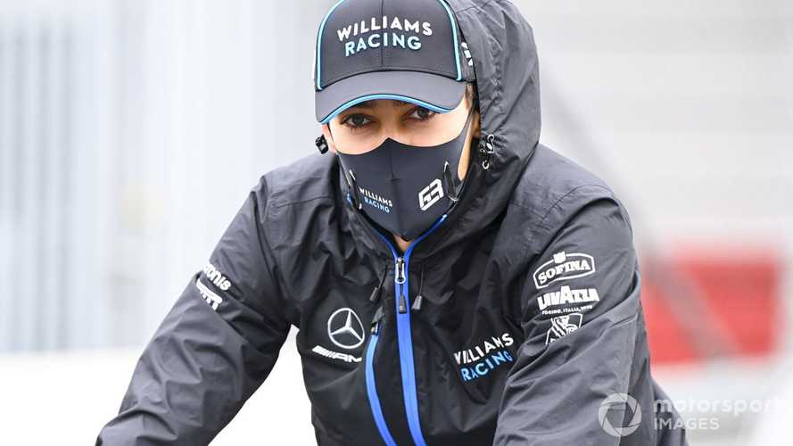 Russell 'not concerned' about Williams future amid Perez links