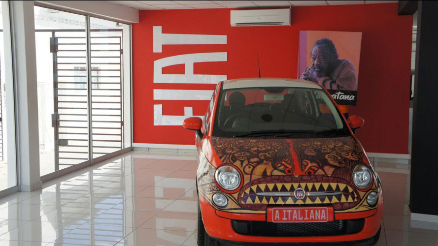 "Fiat 500 ""The Italian Woman"""