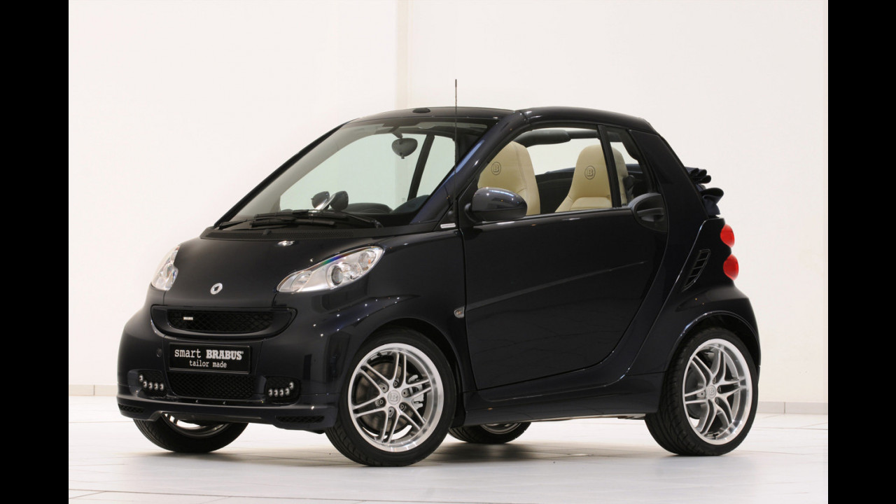smart cabrio Brabus La Bleue