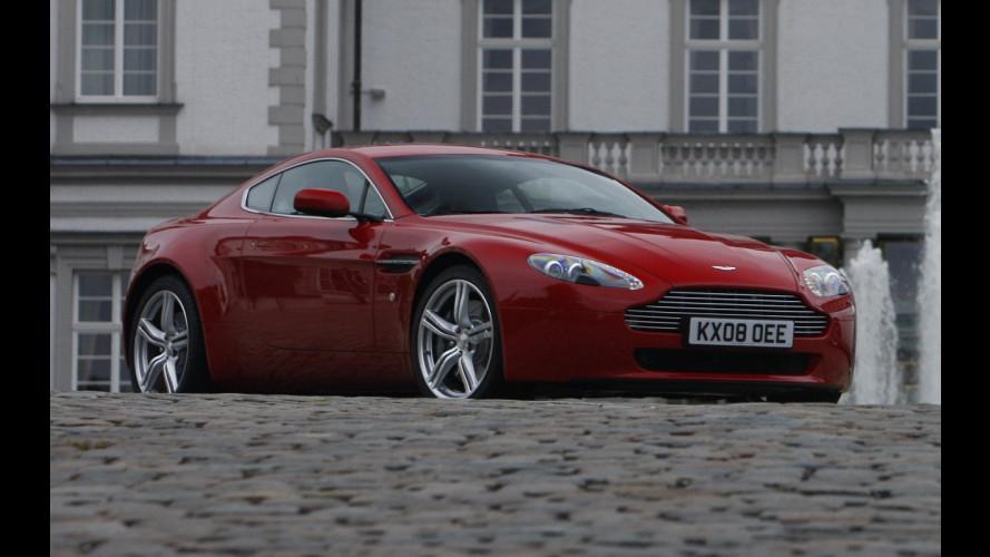 Aston Martin Vantage V8 restyling