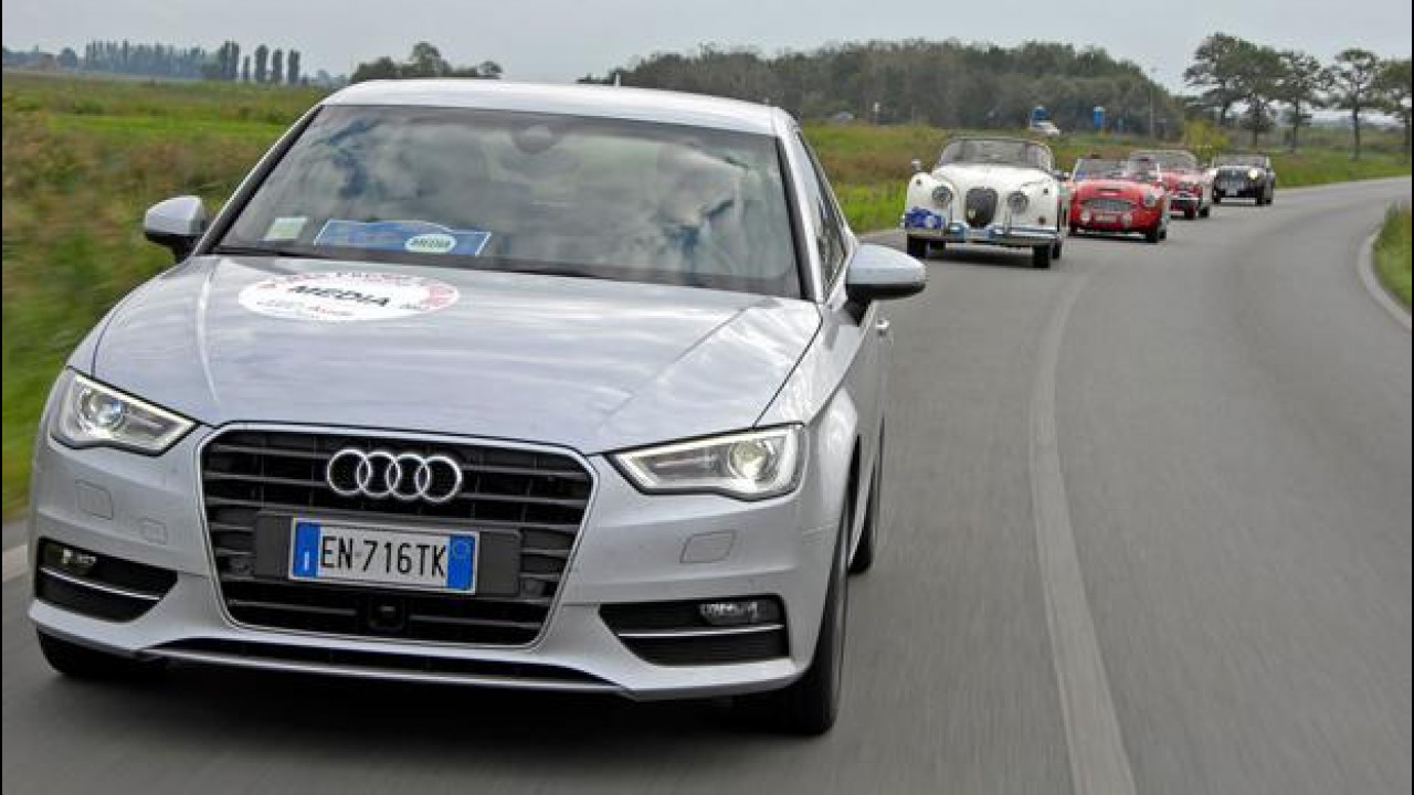 [Copertina] - In viaggio con la nuova Audi A3 sulla scia del Gran Premio Nuvolari 2012
