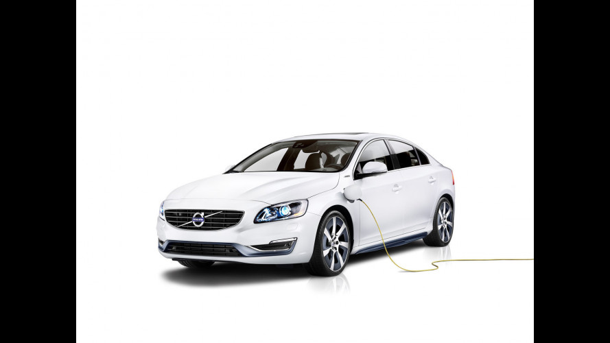 Volvo S60L PPHEV Concept Car, ibrida per la Cina