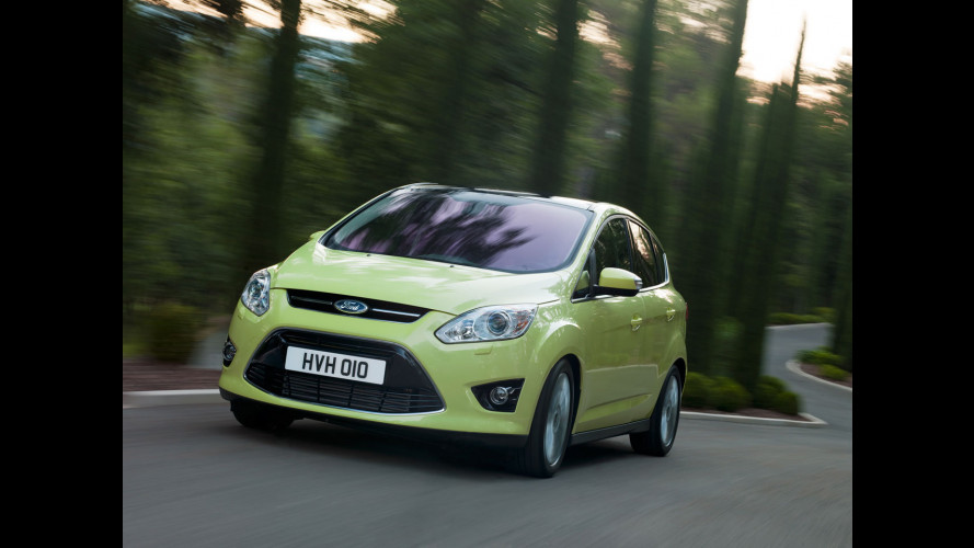 Ford Focus, elettrica insieme a C-Max ibrida e plug-in