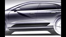 Porsche Macan, il primo bozzetto