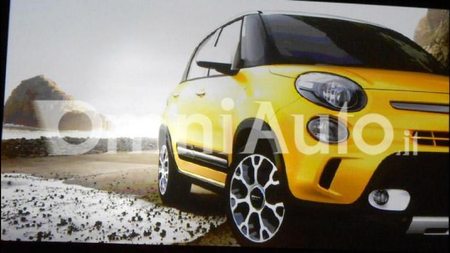"""Fiat 500L Trekking, il """"fuoristrada"""" per la famiglia"""