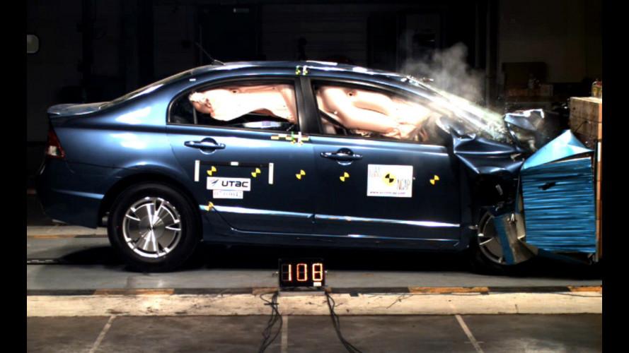 Quanto vale un'auto Ibrida in termini di sicurezza?