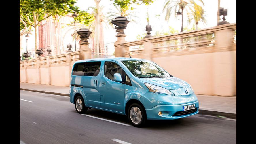 Nissan e-NV200 Evalia, ecologia al cubo