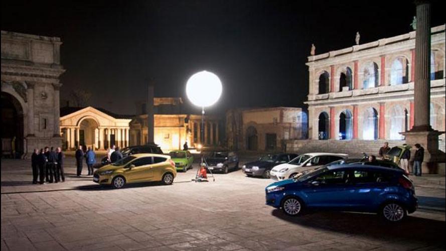 La Ford Fiesta fra l'Antica Roma e il Web