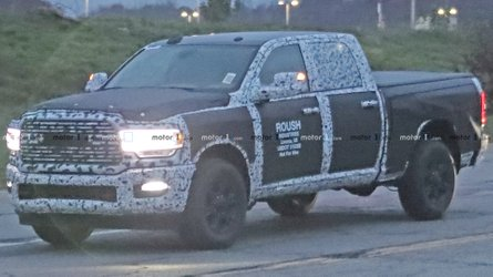 New Ram 2500 Crew Cap Spied Looking Tough