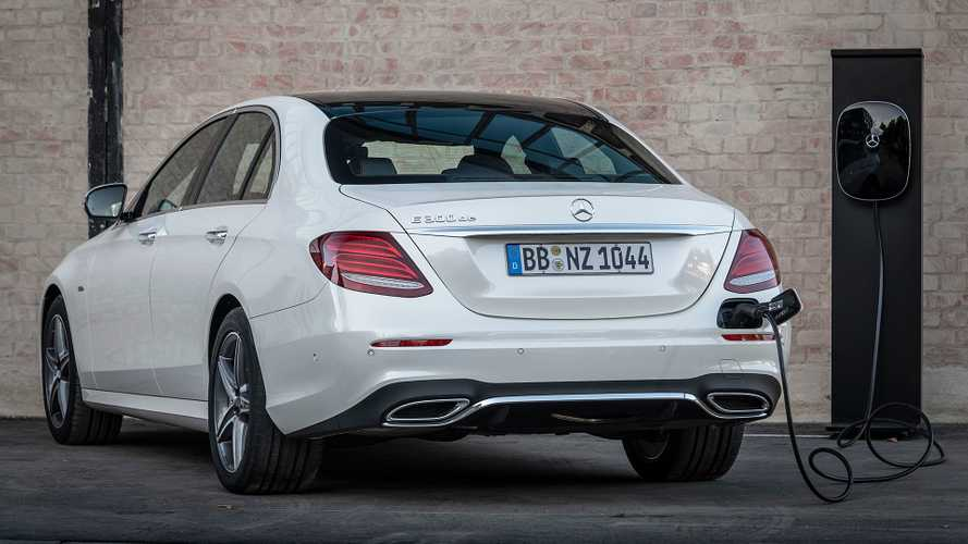 Mercedes E 300 de EQ Power, la prima ibrida plug-in diesel della Stella