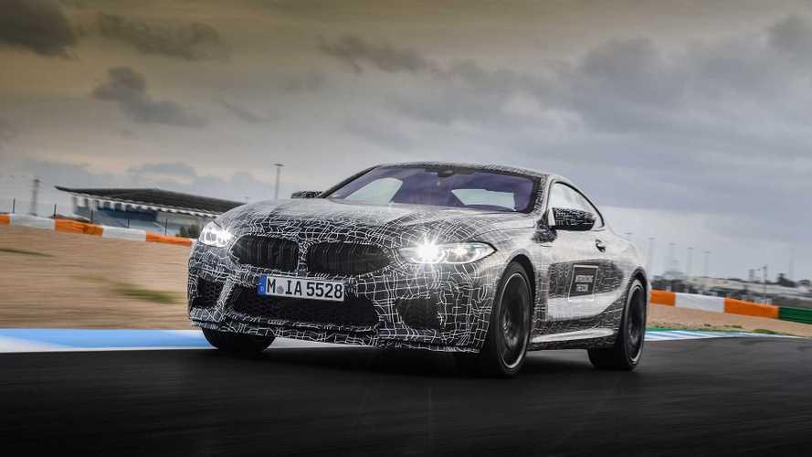 La BMW M8 bientôt prête à en découdre