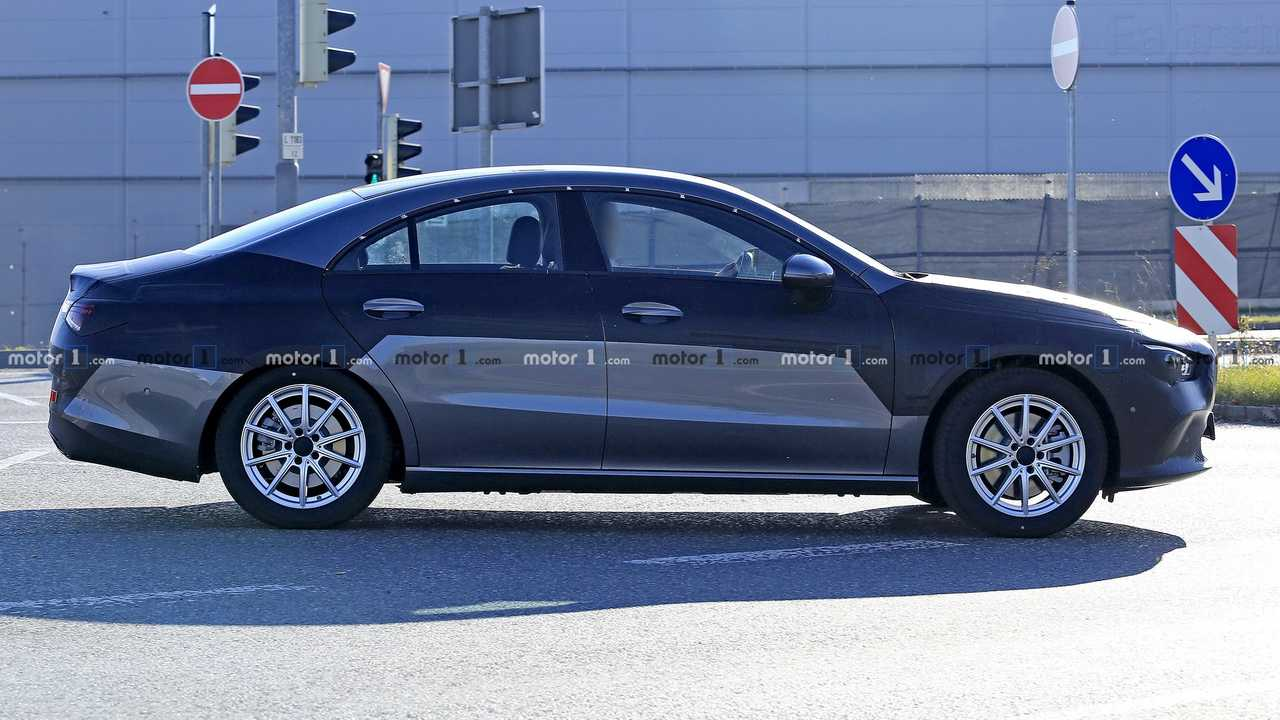 2020 Mercedes CLA spy photo