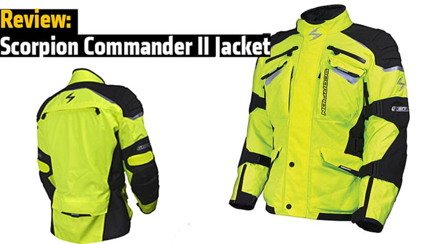 Review: Scorpion Commander II Jacket
