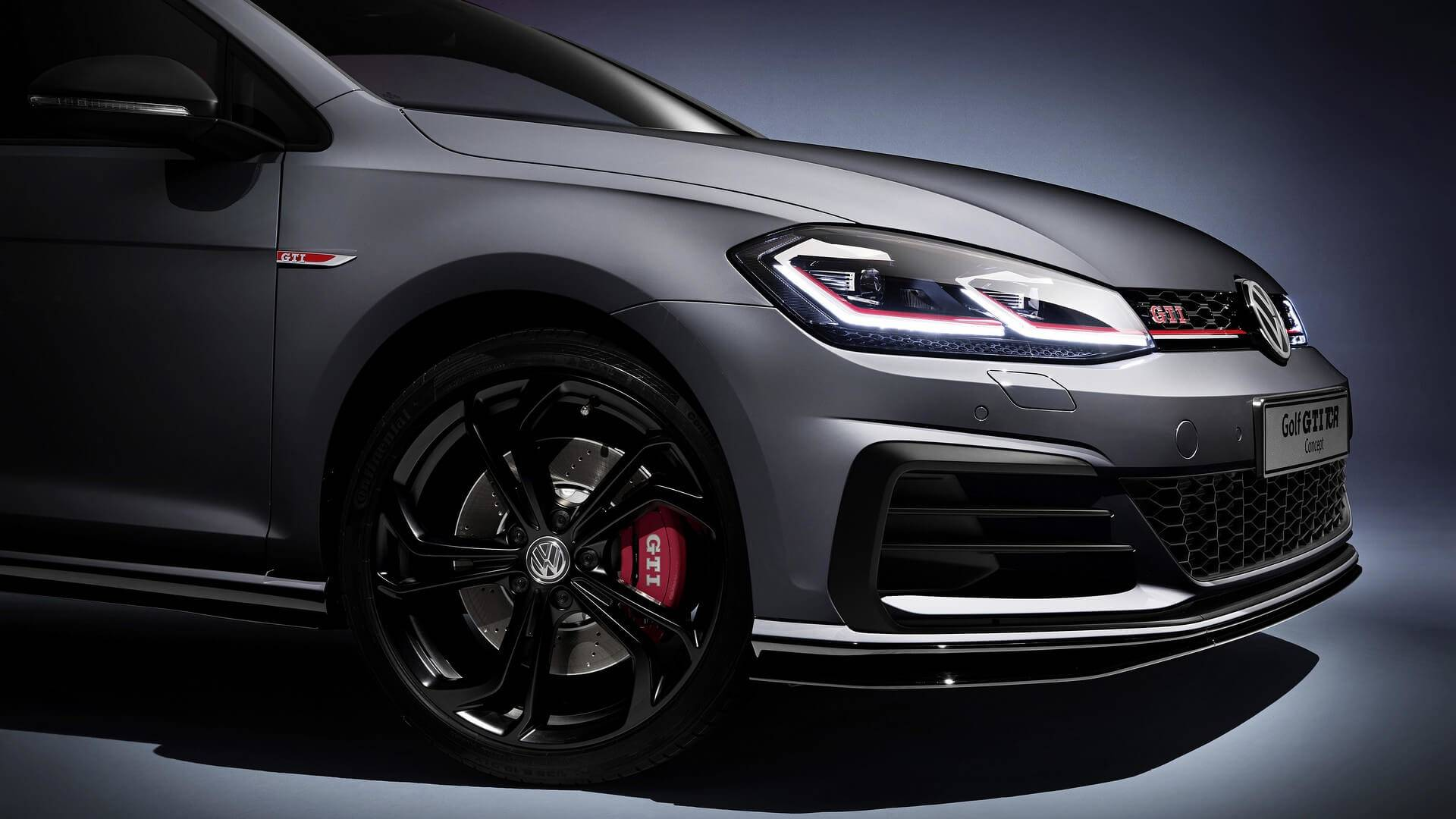 What Does Gti Stand For >> Vw Golf Gti Tcr Concept Unveiled As The Fastest Golf Gti Ever