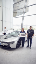 BMW i8 Roadster First Edition Handover Event