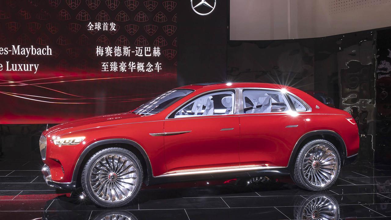 Mercedes-Maybach Vision SUV