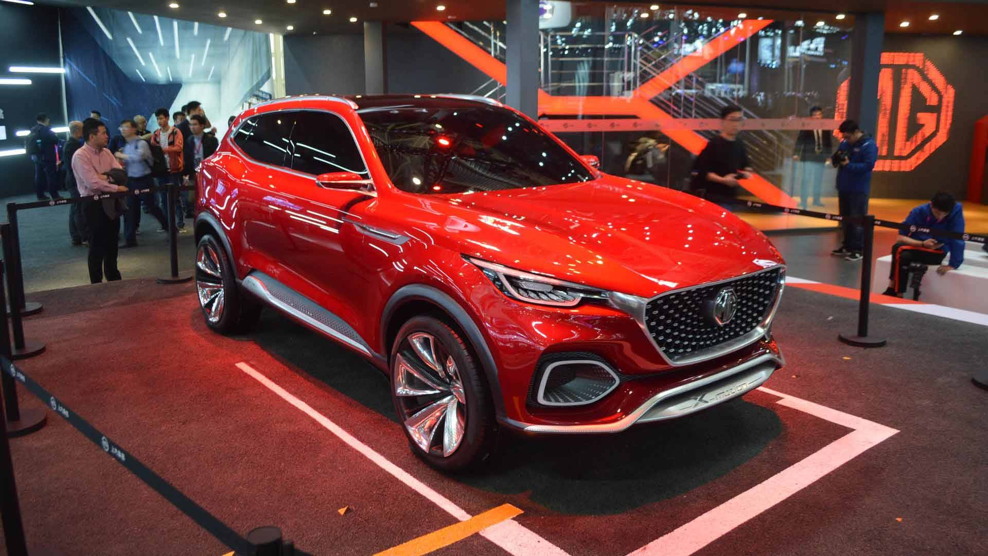 MG XMotion Concept Imagines Sporty SUV In Beijing - Mg car show