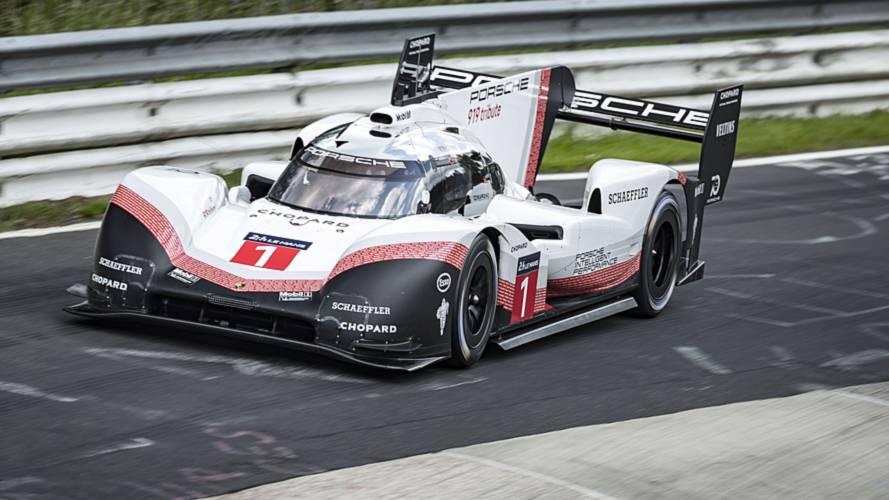 ¡Nuevo récord! El Porsche 919 Hybrid Evo vuela en Nürburgring