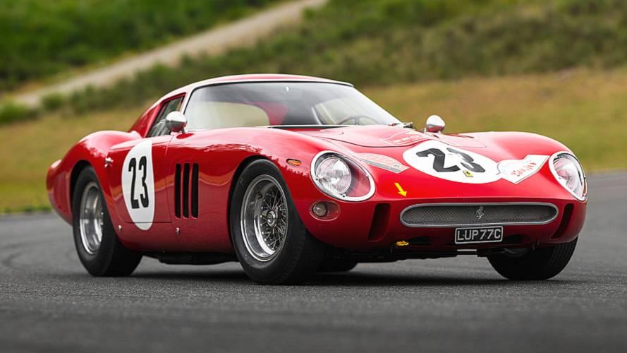 Cette Ferrari 250 GTO a été adjugée à 41 millions d'euros !