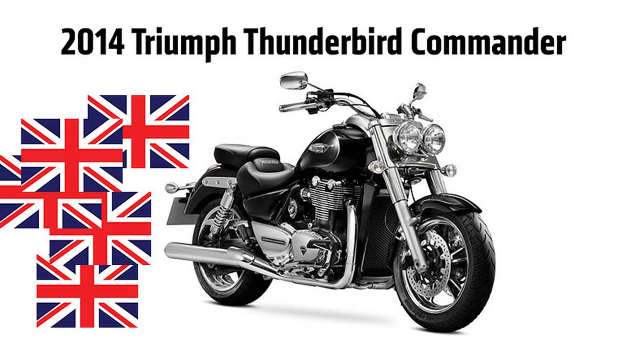 2013 EICMA: Three New Triumphs Unveiled — Thunderbird Commander and LC, Tiger 800 XC Special Edition