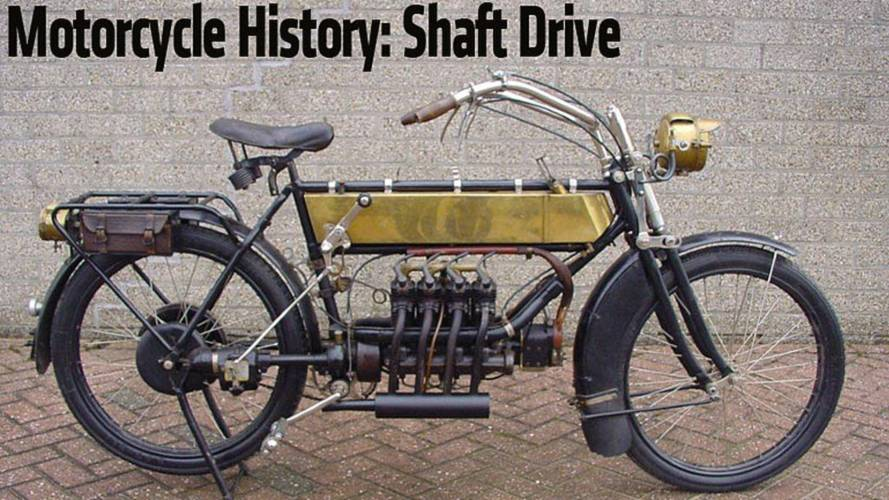 Motorcycle History: Shaft Drive