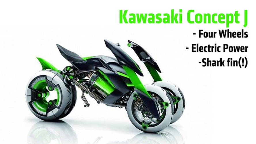 Kawasaki Concept J: First Photos Of Electric Four-Wheeler