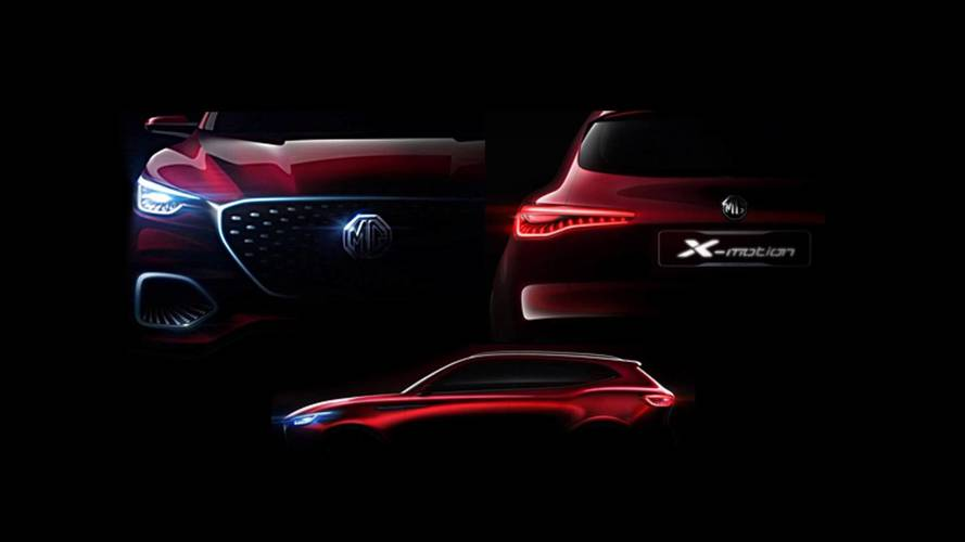 MG bringing X-Motion SUV concept to Beijing motor show