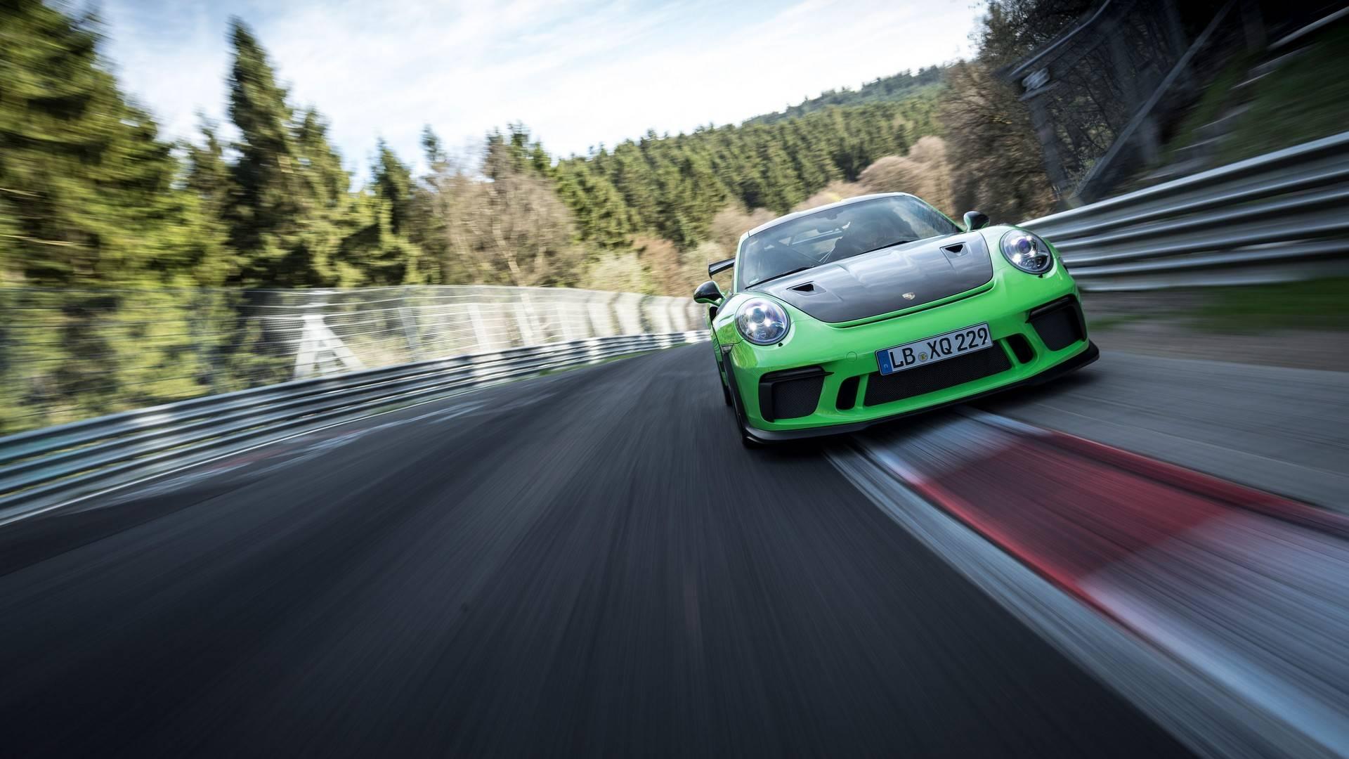 Video Porsche 911 Gt3 Rs Conquista Nurburgring Em 6 56 4