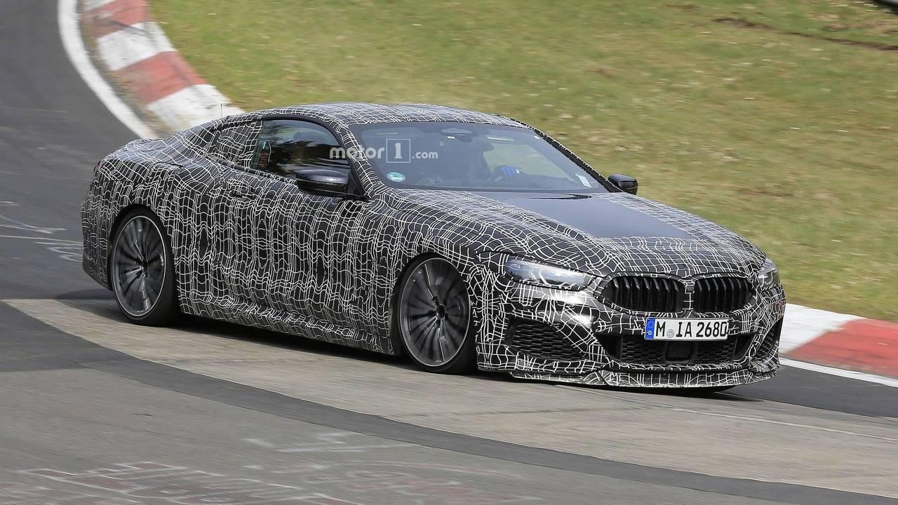 BMW 8 Series Coupe spy photo