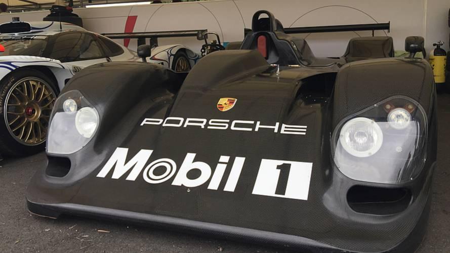 Unraced Porsche LMP2000 makes public debut