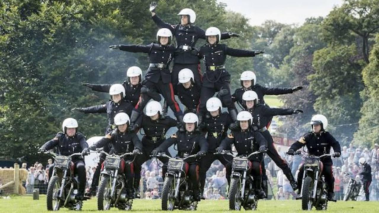 British Army Bike Stunt Team Disbands after 90 Years