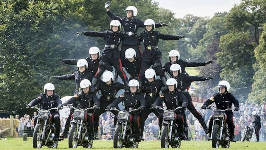 British Army Bike Stunt Team Disbands after 90 Years