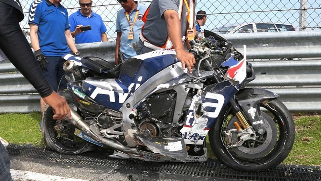 How to Walk Away From a 180 mph Get-off: Inside the Loris Baz MotoGP Sepang Crash