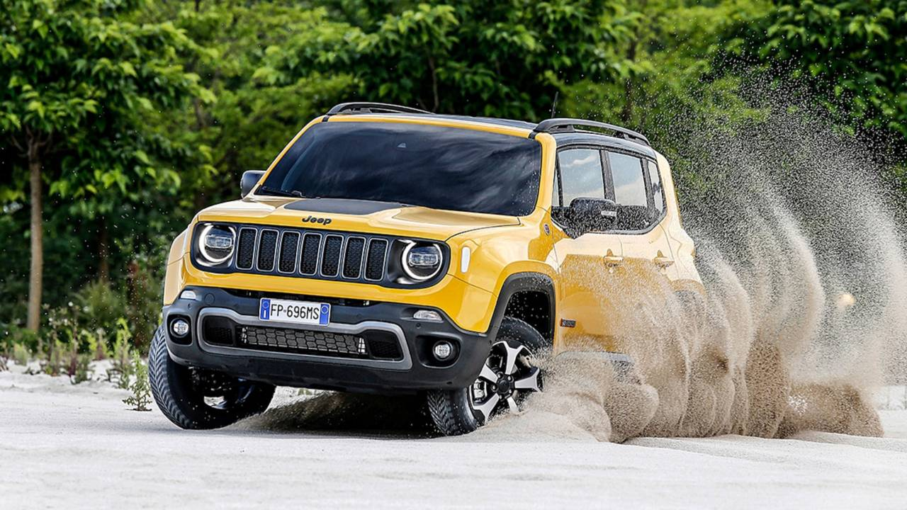 2019 Jeep Renegade Facelift