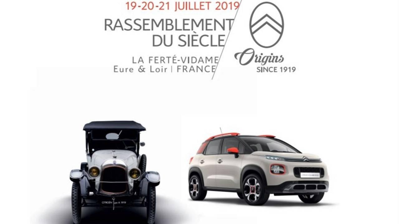 Centenaire Citroën affiche
