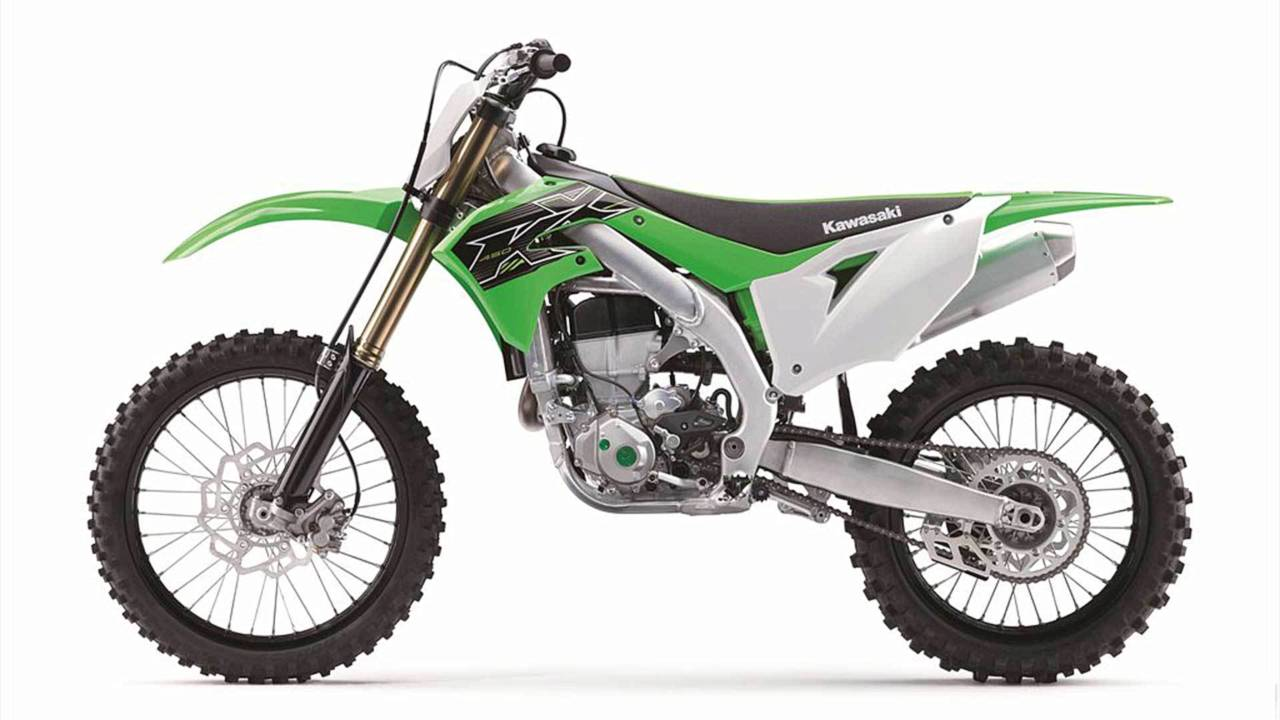 The KX450 doesn't really have a bad side.