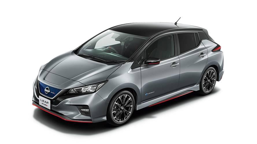 Januárban debütálhat a Nissan Leaf legújabb változata