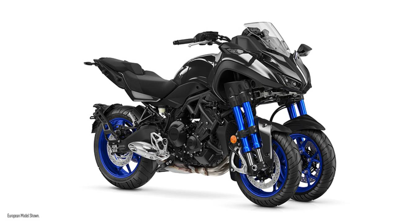 Yamaha MWT-9 Niken Three-Wheeler Coming Stateside