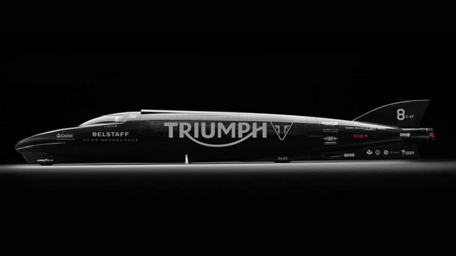 Guy Martin, Triumph Seek to Break Record at Bonneville